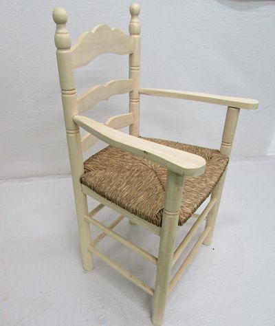 sillon madera ancho