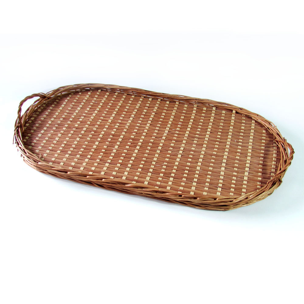 Bandeja para ropa de plancha mimbre artesanal