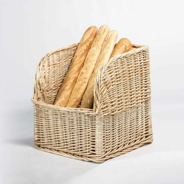 Expositor de mimbre para Panaderías