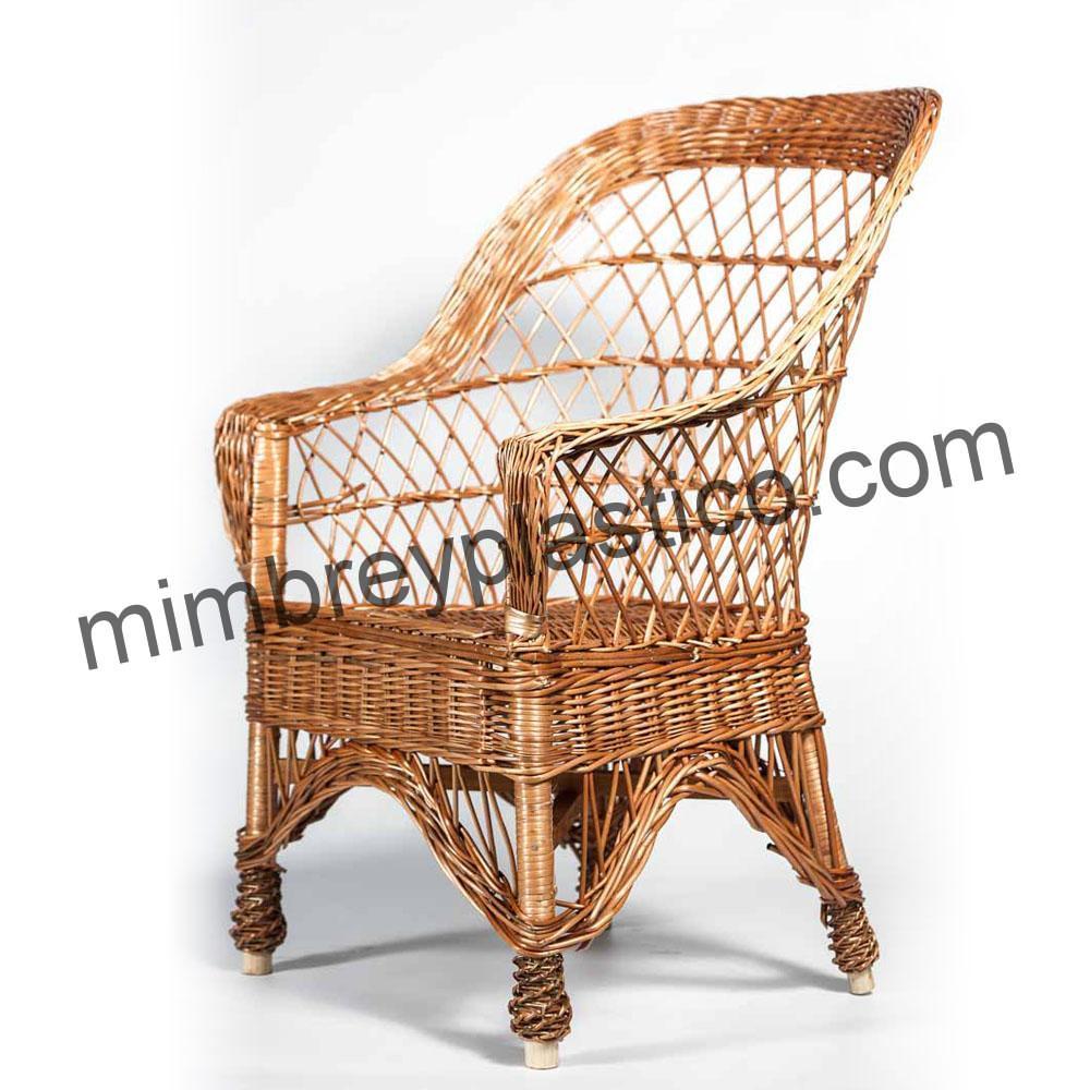silla de mimbre modelo abuela