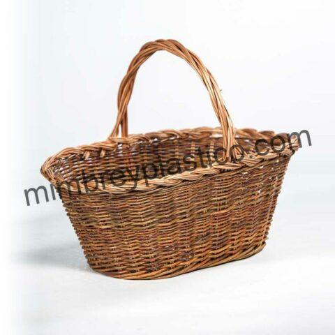 cestas de mimbre para recoger setas