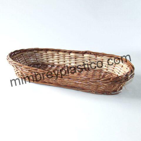 PANERA DE MIMBRE COLOR BUF, productos fabricados de forma artesanal por MimPlas Artesanía