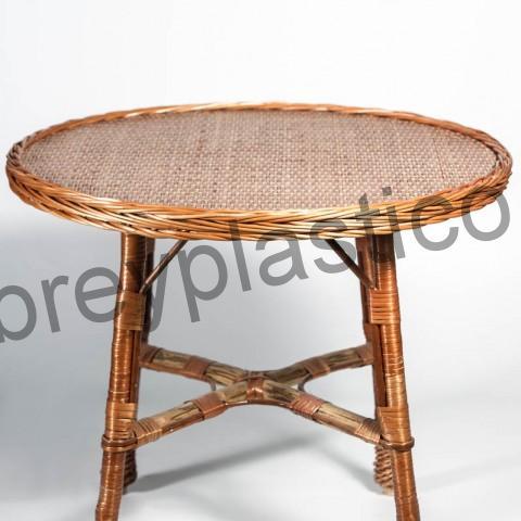 Terraza de mimbre de sillas y mesas en mimplas artesania - Mesas de mimbre ...