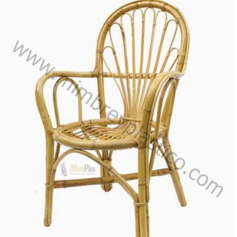 sillón de caña modelo palmito